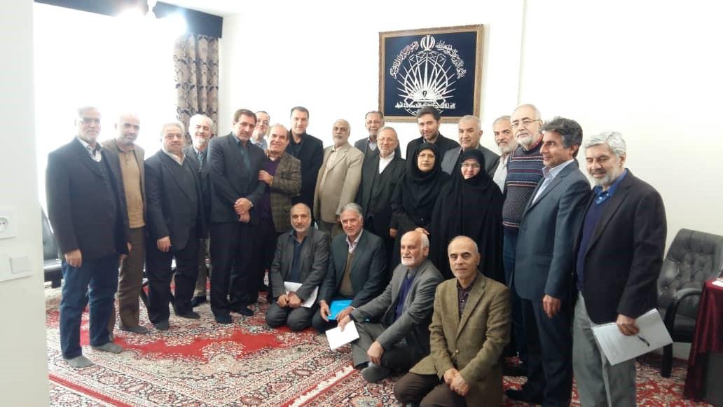 شورای مرکزی مجمع اسلامی دانش آموختگان خارج